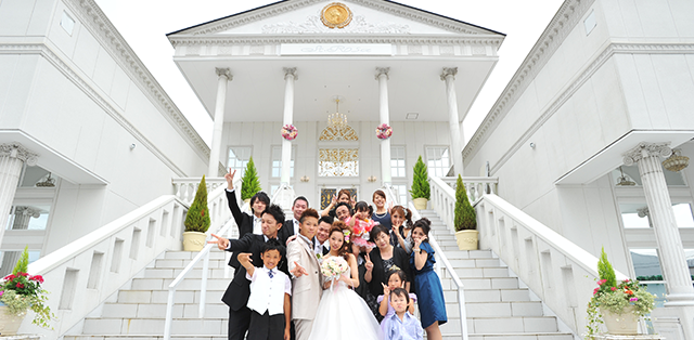 お子様お披露目WEDDING